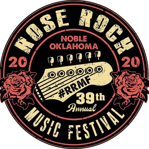 Noble's Rose Rock Music Festival has been postponed due to the coronavirus pandemic. [Logo provided]