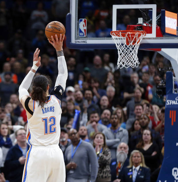 OKC Thunder: Steven Adams' foul shooting improves, but there's a catch