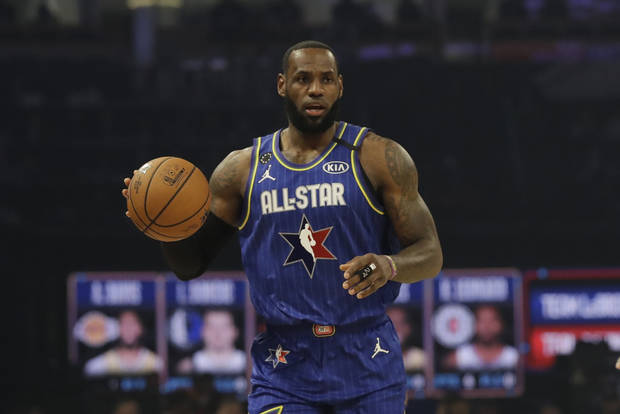 Team LeBron set All-Star record for points in quarter