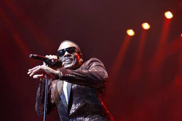 "Charlie Wilson performs during the ""In It To Win It"" tour at the Chesapeake Energy Arena, Friday, March 17, 2017. [Sarah Phipps/ The Oklahoman Archives]"