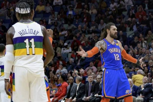 Thunder enters All-Star break with wild win in New Orleans