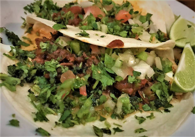 Cabrito tacos, coming soon to Nic's Place. [Dave Cathey/The Oklahoman]