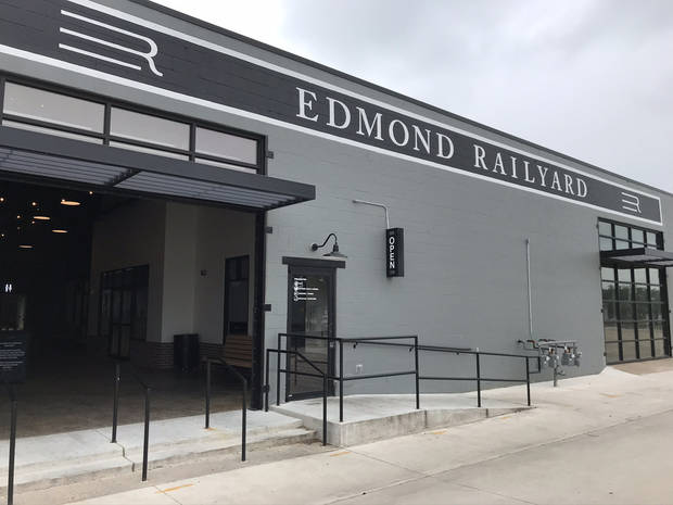 Edmond Railyard has reopened. [Dave Cathey/The Oklahoman]