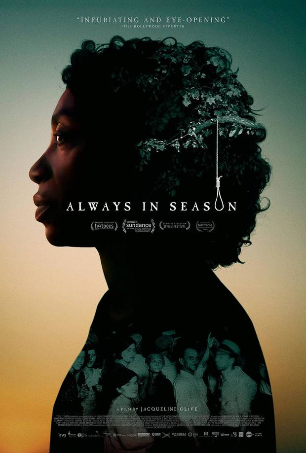 "The hard-hitting documentary ""Always in Season"" earned special honors at the 2019 Sundance Film Festival. [Poster image provided]"