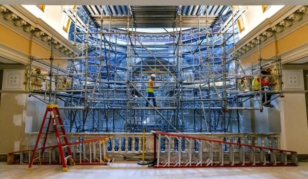 Capitol restoration: What to know before visiting Oklahoma's state Capitol
