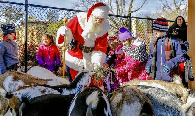 OKC Zoo introducing Breakfast with Santa this weekend