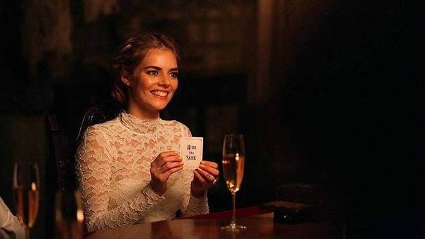 "Samara Weaving stars in ""Ready or Not,"" out in theaters today. [Fox Searchlight Pictures photo]"