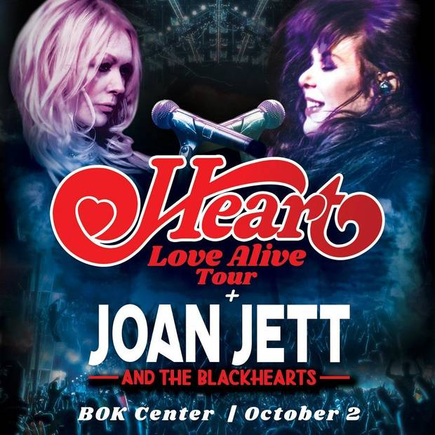 Heart and Joan Jett & The Blackhearts join forces for autumn