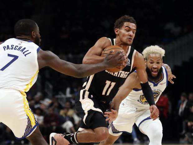 NBA NOTEBOOK: Young scores 24 as Hawks rout Warriors