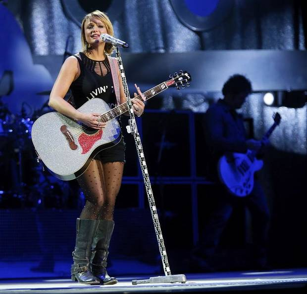 Miranda Lambert performs at Chesapeake Energy Arena in Oklahoma City, Friday, March 6, 2015.[Nate Billings/The Oklahoman Archives]