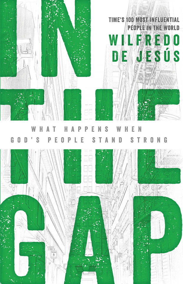 "Chicago pastor Wilfredo De Jesus' book ""In the Gap"" will be adapted into a television series by Tulsa's Cloud Nine Productions. Book cover art provided"