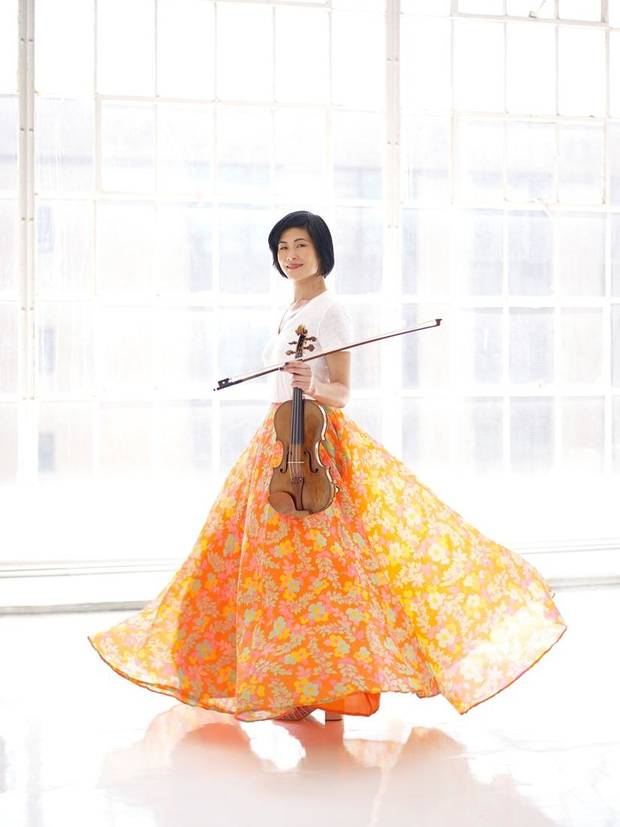 Violinist Jennifer Koh will return to OKC as the soloist for the Oklahoma City Philharmonic's Jan. 11 Classics concert. [Juergen Frank photo]