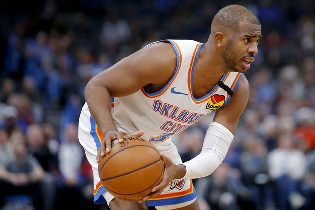 Chris Paul speaks for players: 'We want to play'