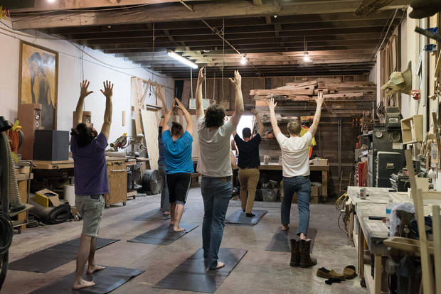 Norman's Blue Collar Yoga caters to manual laborers | The Oklahoman