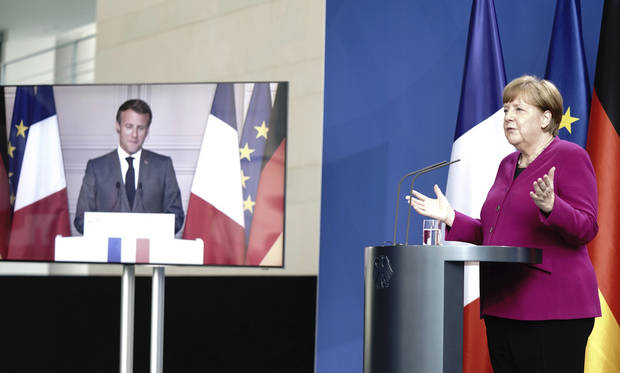 Germany, France propose virus recovery fund for EU economy