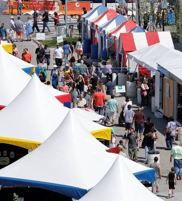 Video & interviews: Downtown Festival of the Arts starts this week in Bicentennial Park