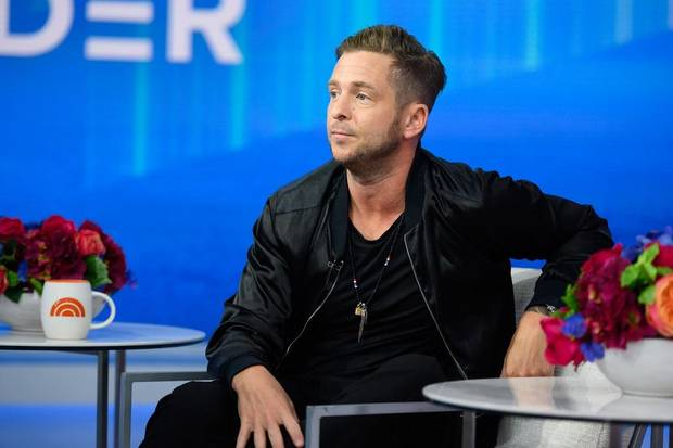 "Tulsa native Ryan Tedder of OneRepublic appears on the ""Today"" show onon Friday, September 27, 2019. [Photo by Nathan Congleton/NBC]"