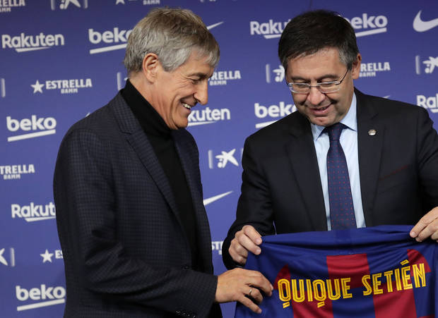 Barcelona won't reach record revenue because of virus