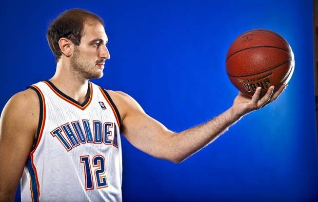 Thunder Legacy Series: Nenad Krstic saw 'great potential' in first OKC team