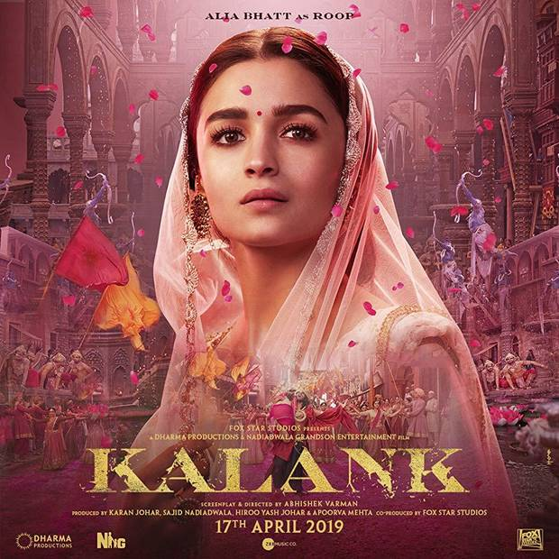 "Alia Bhatt stars in Kalank,"" an epic Hindi-language drama made India. The period film is set in the 1940s. [Fox Star Studios photo]"