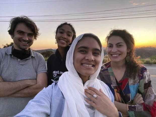 Four roommates of different faiths face a pandemic together