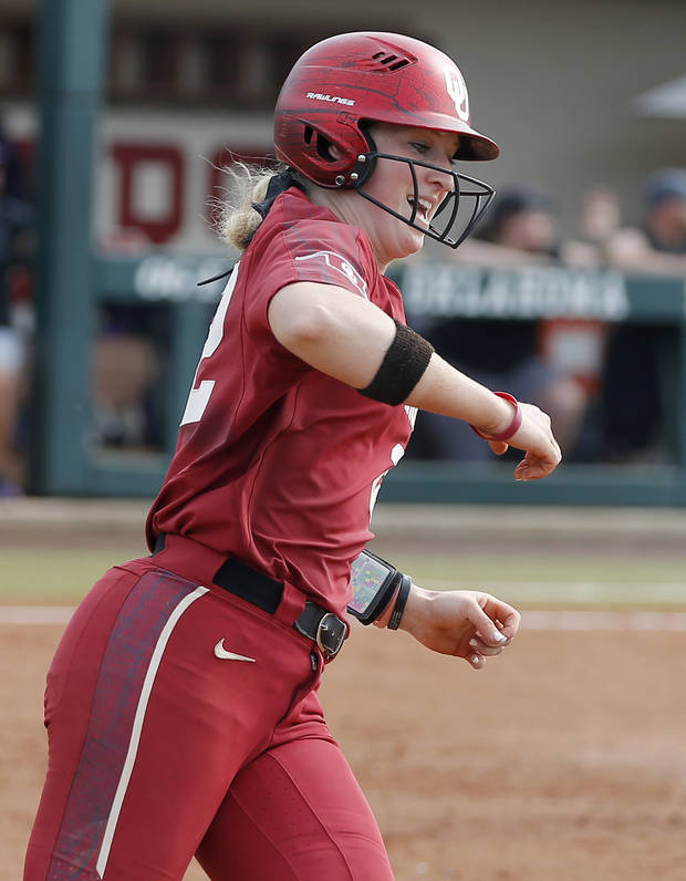 OU softball: Lynnsie Elam named Big 12 Player of Week