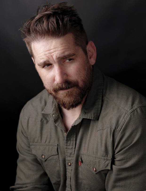 "Oklahoma actor, writer and director Adam Hampton will star in the upcoming crime thriller ""Out of Exile."" [Chad Baker photo]"