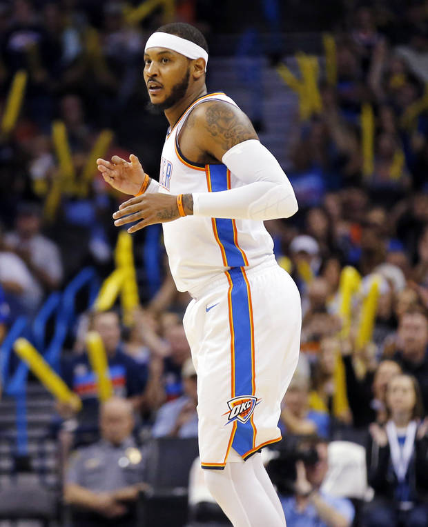 Carmelo Anthony's escape from New York