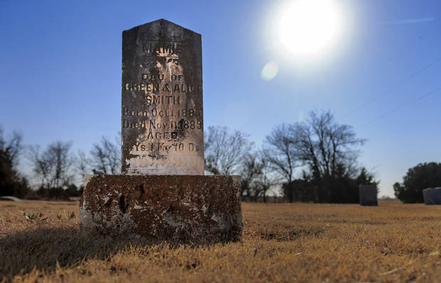 Manager at Spring Creek Memorial Cemetery in northwest Oklahoma City is tracing original families who came to the area in 1889 | The Oklahoman