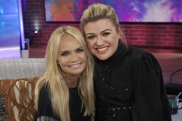 Watch: Kristin Chenoweth appears on 'Late Late Show with James Corden,' 'The Talk' and 'GMA3'