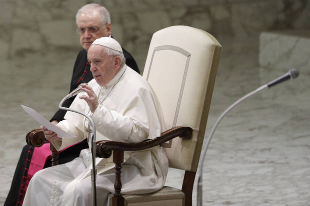 Pope avoids question of married priests in Amazon document