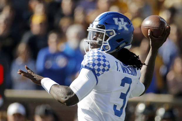How ups and downs prepared Del City alum Terry Wilson to lead Kentucky