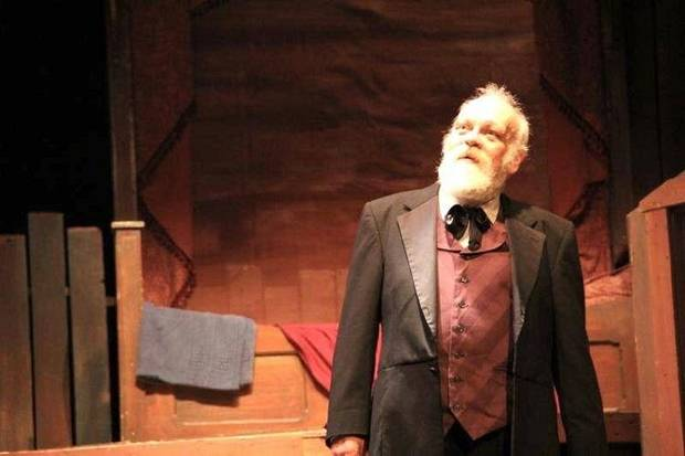 "James Ong, who played Scrooge for many years in The Pollard Theatre's ""A Territorial Christmas Carol,"" died in 2018. [Photo provided]"