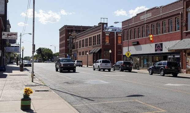 Historic Main Street in Pawhuska, Okla., is seen Wednesday, May 17, 2017. [The Oklahoman Archives]