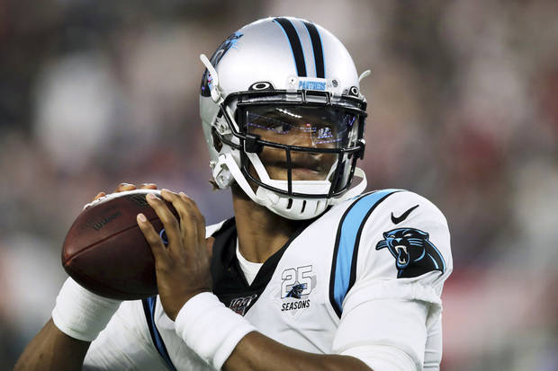 Panthers staying mum on Cam Newton's future with team