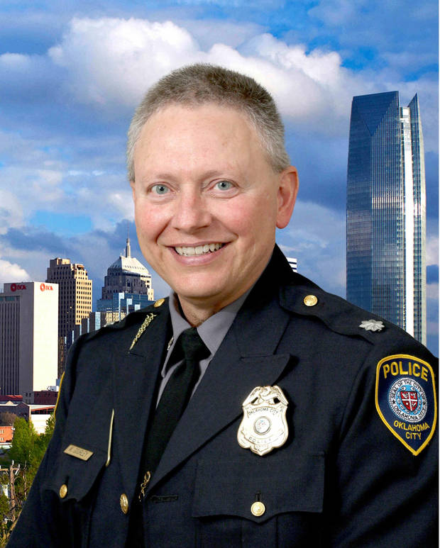 Oklahoma City Police Chief Wade Gourley