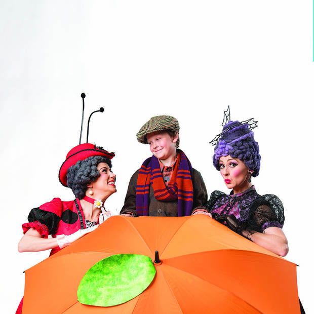"""James and the Giant Peach"" will also have two sensory-friendly performances in April. Photo provided."