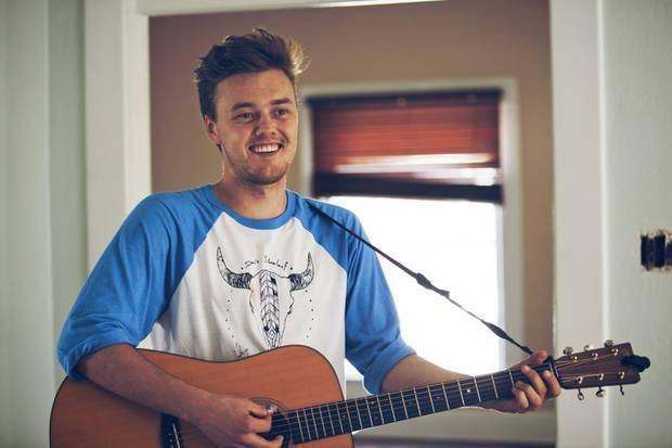 "Oklahoma singer-songwriter Parker Millsap, a Purcell native now based in Nashville, Tenn., is releasing his new album ""The Very Last Day"" March 25. Photo by Nathan Poppe, The Oklahoman"
