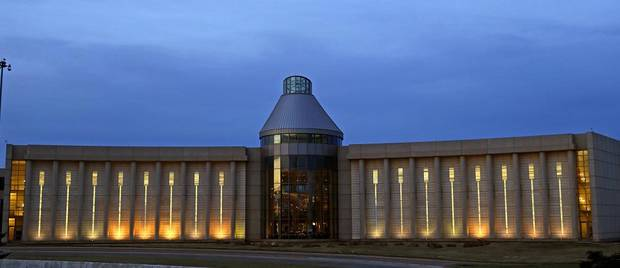 The Oklahoma History Center in Oklahoma City, is seen on Friday, April 5, 2013. [Bryan Terry/The Oklahoman Archives]
