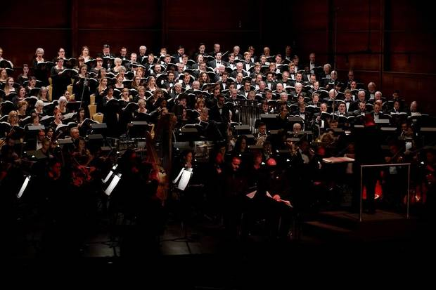 "Canterbury Voices will close its 2018-19 season April 13 by performing the perennial favorite ""Carmina Burana"" at the Civic Center Music Hall. [Photo by Joy Neel, Tapestry Photographs]"