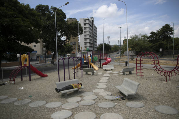 AP PHOTOS: World's playgrounds silent, lonely amid pandemic