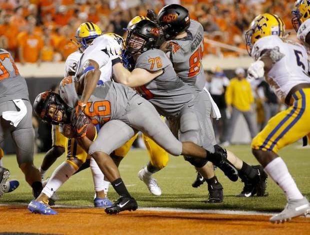 OSU report card: Reserves, defense get high marks in rout of McNeese