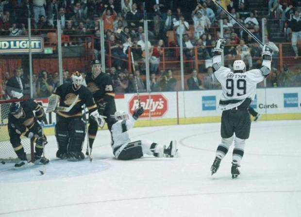 On this date in sports history: Wayne Gretzky passes Gordie Howe as the greatest goal-scorer in NHL history