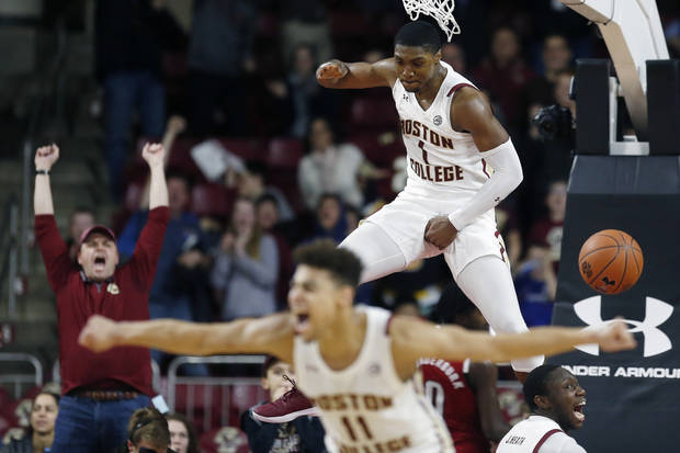 Thornton, Boston College hold off N.C. State for 71-68 win