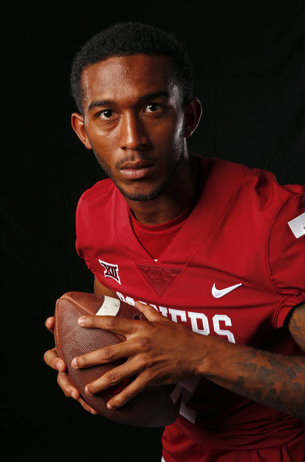 OU cornerback Jordan Thomas always practices in black sleeves, tights to take a stand against racism