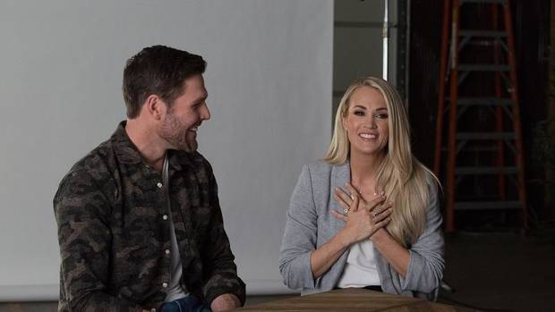 Video: Carrie Underwood and Mike Fisher's web series 'Mike and Carrie: God & Country' premieres tonight