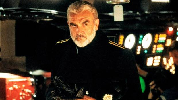 "Sean Connery stars in ""The Hunt for Red October."" [Paramount Pictures}"