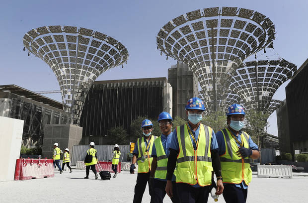 Dubai Expo 2020 recommends postponing a year amid virus