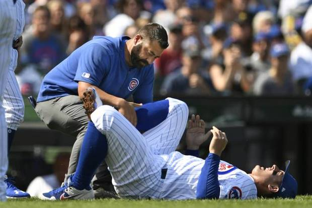 MORNING ROUNDUP: Cubs Rizzo likely out for at least one week
