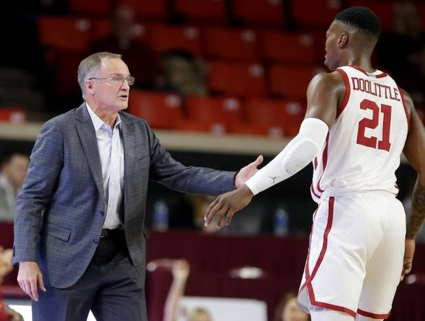 OU men's basketball: Kristian Doolittle leads Sooners to win over North Texas